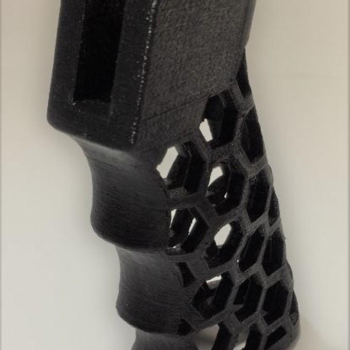 AR-15 Skeleton HexCut Grip Combo