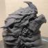 Dragon head bust image