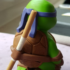 Picture of print of Little Turtle Warrior - Bo Staff