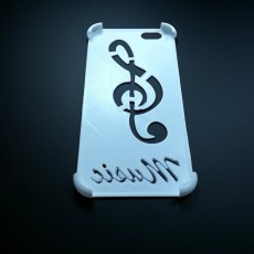 Picture of print of Iphone 6/7/8 music case