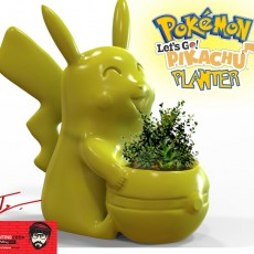 Pikachu Planter