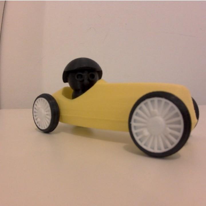 The Vintage Race Car