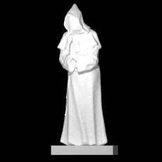 Praying monk Bartholomeus