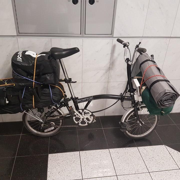 brompton front bike mount.