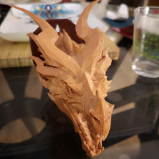 Picture of print of Skyrim Alduin Dragon wall Trophy