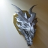 Skyrim Alduin Dragon wall Trophy image
