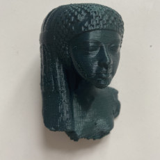 Picture of print of Princess from Akhenaton's family