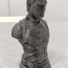 Picture of print of Captain America Bust - Infinity Wars