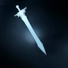 Picture of print of Diablo Tyrael sword