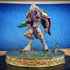Picture of print of Starcraft II - Zeratul full figure