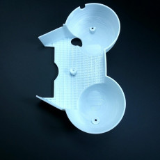 Picture of print of The lower part of the motorcycle dashboard housing