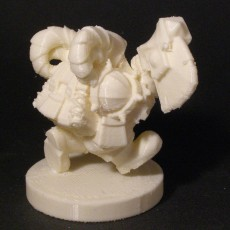 Picture of print of dwarf