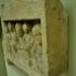Funerary pediment stele with a symposium scene image