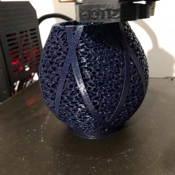 Dual Part Vase