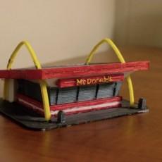 McDonalds 1950's