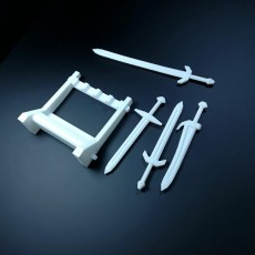 Picture of print of Sword Stand DnD ready This print has been uploaded by Li WEI Bing