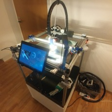 Picture of print of V-King CoreXY 3D Printer