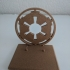 Imperial logo star wars display stand for black series image