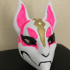 Picture of print of Fortnite Kitsune Drift Mask