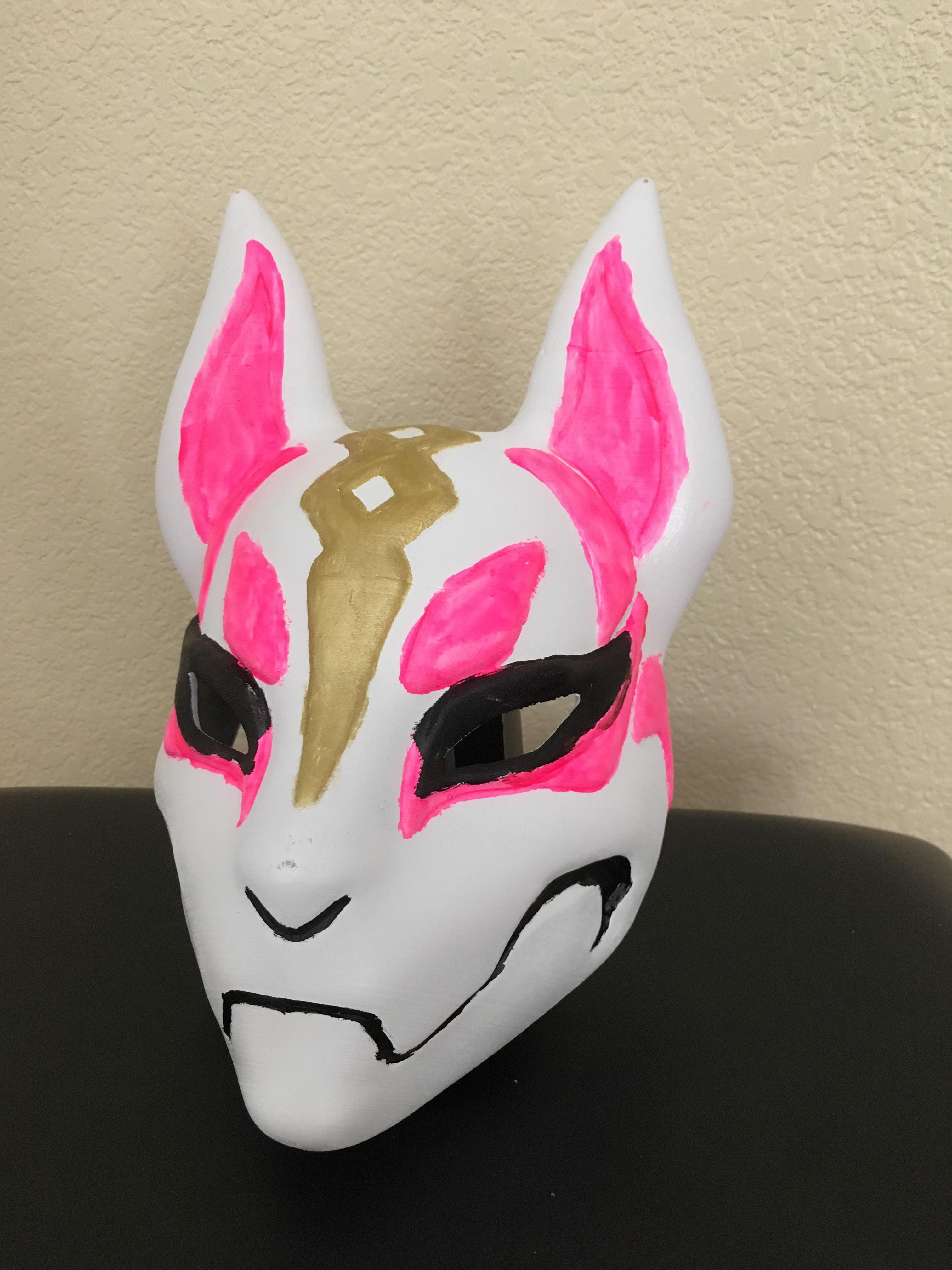 3d Printable Fortnite Kitsune Drift Mask By Tanya Wiesner