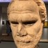 Marble head of Demosthenes image