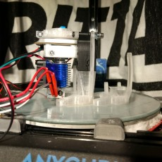 E3D-v6 Orion compatible effector mount Anycubic kossel