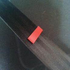 Seatbelt tag