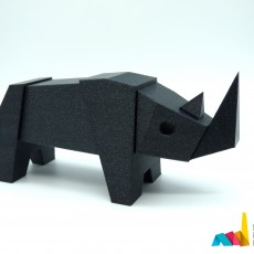 Magnetic Rhino Toy