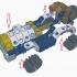 Clickaloo Retro Car Playset image