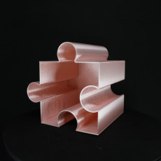 Picture of print of fun useful Jigsaw pen pots