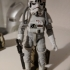 star wars First Order logo display stand for black series or vintage image
