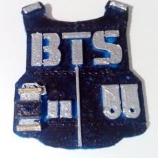 BTS V2 Keychain or Pendant