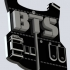 BTS V2 Keychain or Pendant image