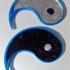 Ying Yang V2 Keychain or Pendant image