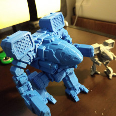 Picture of print of MWO Timberwolf