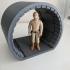 millennium falcon corridor diorama star wars image