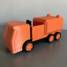 Picture of print of Recycling Truck