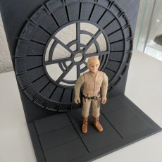 Star wars throne room diorama for vintage action figures