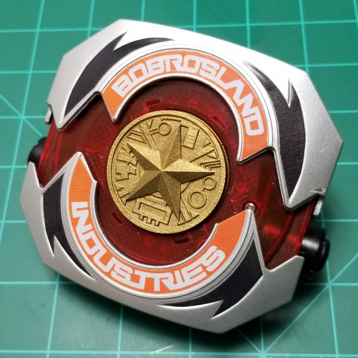 Zeo Ranger Legacy Morpher Coin