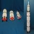 NASA Saturn V Space Rocket image