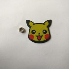 Multi Material Pikachu