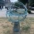 Armillary sphere sundial image