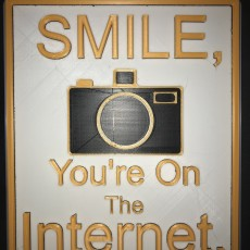 Sign - Smile You're On The Internet