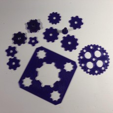 Picture of print of Clickaloo like gears