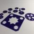 Clickaloo like gears print image