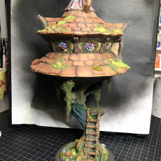 Picture of print of Fey Tree House