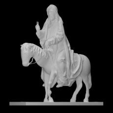 Christ on the Donkey (Palmesel)