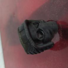 Picture of print of Biker Skull Ring