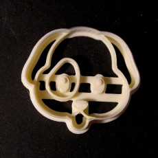 Picture of print of Puppy Cookie Cutter