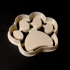 Dog Footprint Cookie Cutter image
